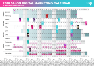 Salon Marketing Calendar